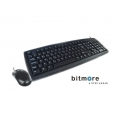 BITMORE KM101 Desktop Set USB BLACK