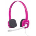 LOGITECH H150 STEREO HEADSET CRANBERRY