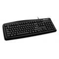MICROSOFT 200 WIRED KEYBOARD USB BLACK